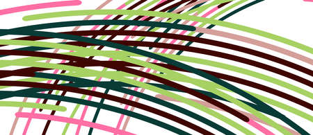 Аbstract moving colorful lines vector backgrounds for cover, placard, poster, banner or flyer 矢量图像