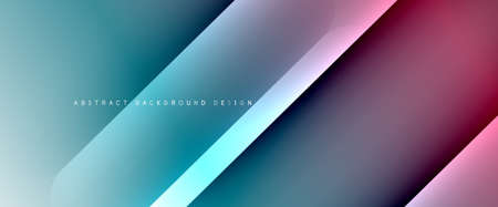 Fluid gradients with dynamic diagonal lines abstract background. Bright colors with dynamic light and shadow effects. Vector wallpaper or poster