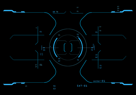 hi fi system: Element of the interface. A sight on a spaceship. The interface of the future.