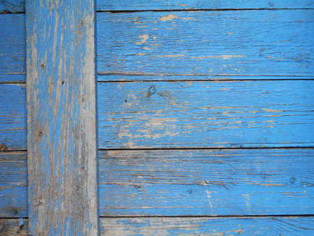 Old painted wood surfaces Stock Photo