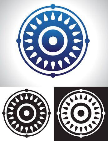 Mandala Symbol abstract image. Stock Vector - 17380493
