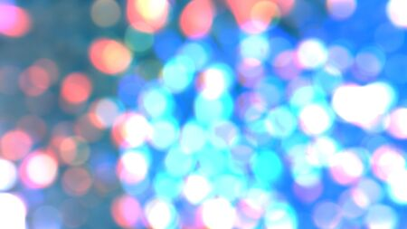 colorful lights: Colorful lights blurred background abstract bokeh. Stock Photo