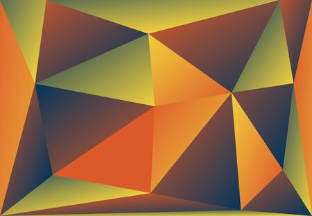 absract: Absract background color triangles vector gradient EPS10 illustration. Illustration