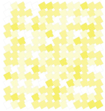 squares background: abstract yellow squares background vector illustration Illustration