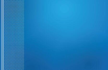 backdrop: blue backdrop letterhead vector illustration