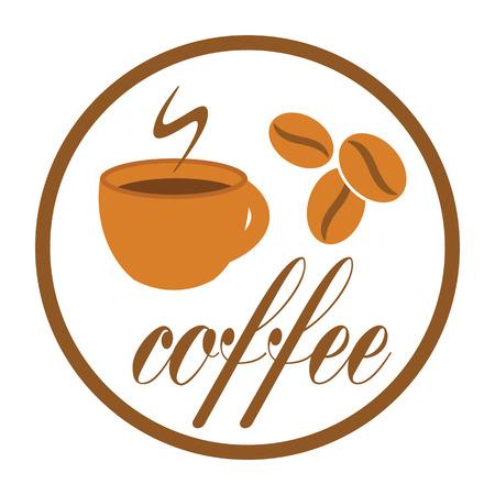 break: coffee break label vector illustration