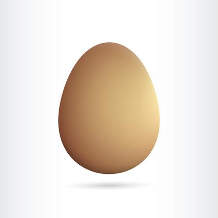 brown egg: single brown egg