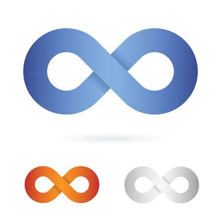 signo de infinito: icono de signo infinito