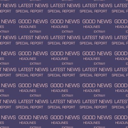 headline: headline news words seamless patterns vector design background