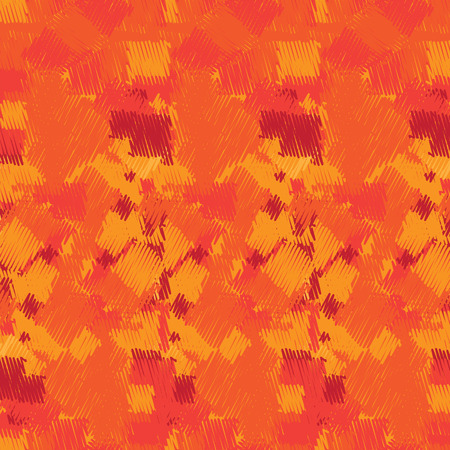abstract scribble: Abstract scribble orange red background design