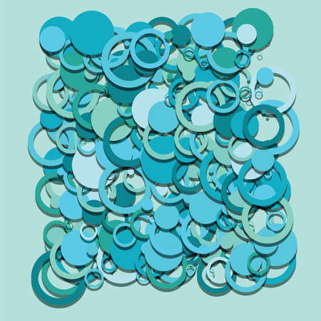 blue circles: blue circles round abstract symbols crative vector design background