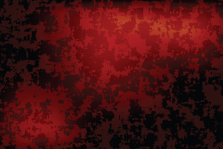 vignette: grunge red dark vignette vector horizontal background