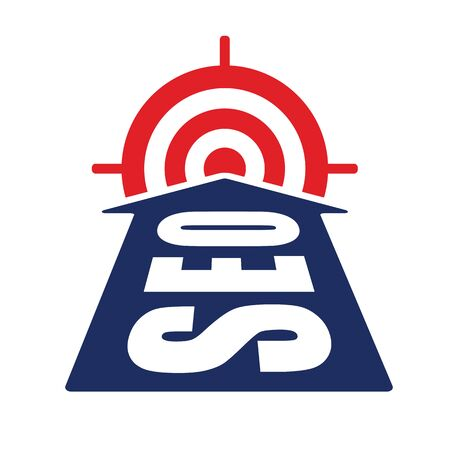 icons site search: arrow with seo word reach target as website optimization and monetization concept illustration