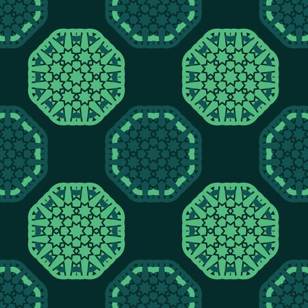star background: octagon star seamless pattern background