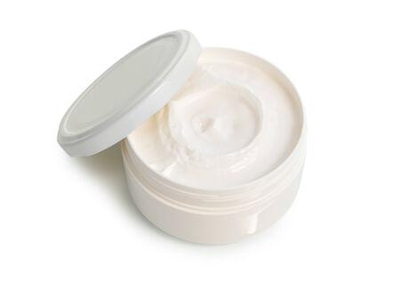 A jar of cream