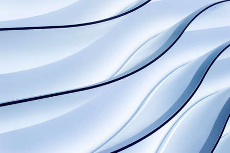 lighting background: Blue gradient lighting wavy lines, abstract background Stock Photo