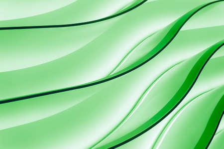 Grüne Steigung Wellen, Farbe Neon abstrakten Hintergrund