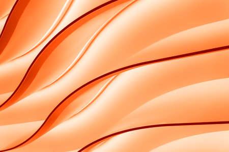 Orange Farbverlauf Wellen, Farbe Neon abstrakten Hintergrund Lizenzfreie Bilder