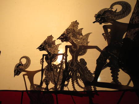 shadow show: shadow puppet show