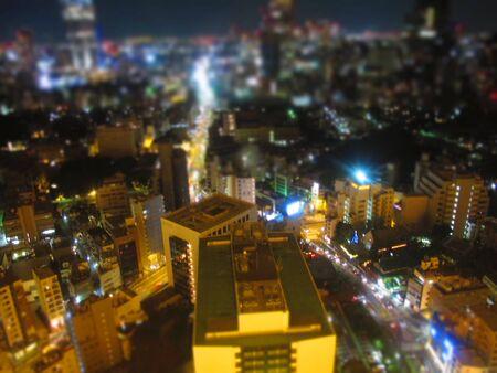 iluminated: Tokyo city at night