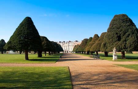Hampton Court Palace in springtime, England, UK