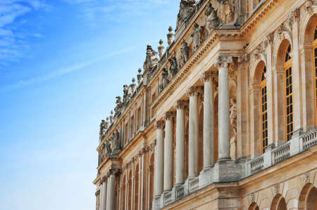 Palace of Versailles : Exterior view of facade photo