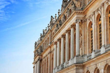 Palace of Versailles : Exterior view of facade