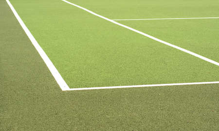 Tennis  Court Abstract Stock Photo