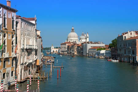 Grand Canal view of Venice, Italy