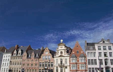flanders: Ghent  waterfront in Flanders Belgium
