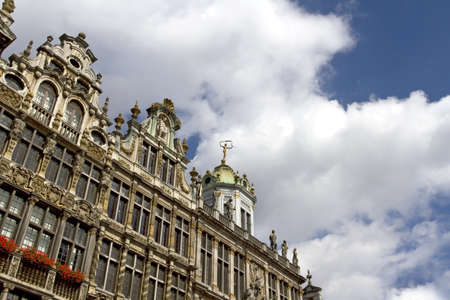 Grand Place in Brussels, Belgium Stock Photo