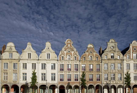Arras Grand Place Buildings in France