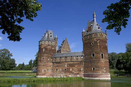Beersel Castle in Brussels, Belgium Stock Photo - 7879934