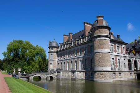 Chateau de Beloeil, Flanders, Belgium Stock Photo