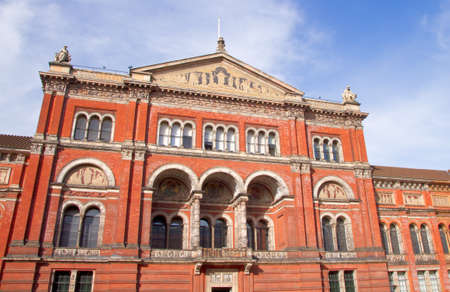 Victoria and Albert Museum in Kensington, London