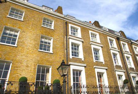 Apartments in Knightsbridge and Chelsea, London, UK Stock Photo