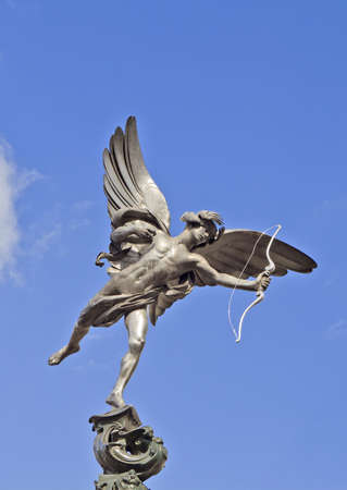Eros statue of Piccadilly Circus, London