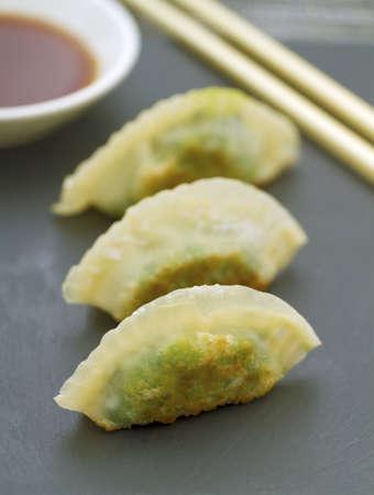 gyoza: Prawn and Spinich Dim Sum Dumpling