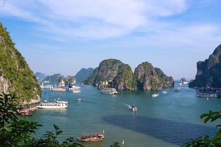 halong: Ha Long Bay in Vietnam, SE Asia