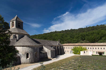 Senanque Abbey in Provence France Stock Photo
