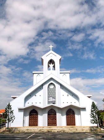 Hoi An Catholic Church in Vietnam Stock Photo