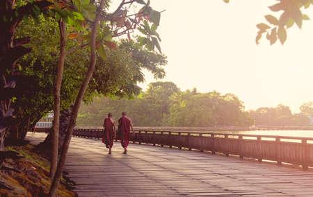 monks: Monks in Mayanmar