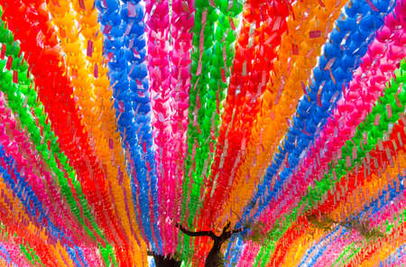 Colorful lantern decoration at Jogyesa Temple, Seoul, South Korea. Stock Photo