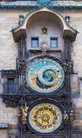 Astronomical Clock Prague Czech Republic Stock Photo