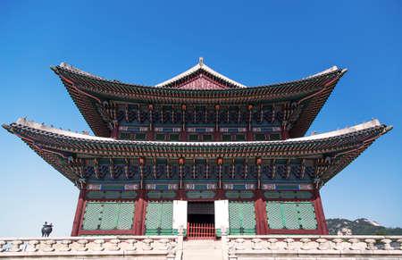 Changdeokgung Palace in Soeul, Korea