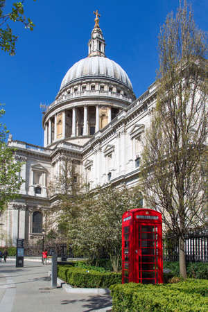 St Pauls Cathedral in London during Spring