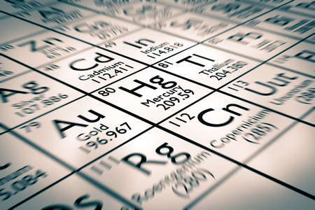 mendeleev: Focus on chemical element mercury