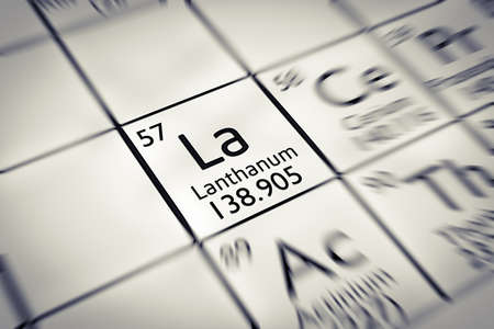 educational research: Focus on rare earth Lanthanum Chemical Element