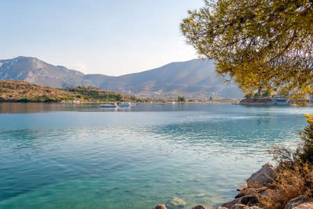 Palaia Epidaurus coast, Argolis, Greece
