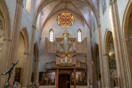 Church in the Cloister of Augustins in Toulouse France